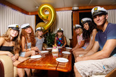 80 ft. Chris Craft Roamer Motor Yacht Boat Rental New York Image 4