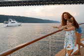 80 ft. Chris Craft Roamer Motor Yacht Boat Rental New York Image 22