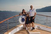 80 ft. Chris Craft Roamer Motor Yacht Boat Rental New York Image 19