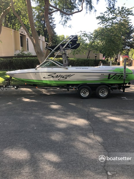 Rent a Sanger Boats ski and_wakeboard in Sacramento, CA near me