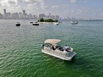 22 ft. Godfrey Marine Sweetwater 2286 Pontoon Boat Rental Miami Image 7