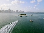 22 ft. Godfrey Marine Sweetwater 2286 Pontoon Boat Rental Miami Image 6