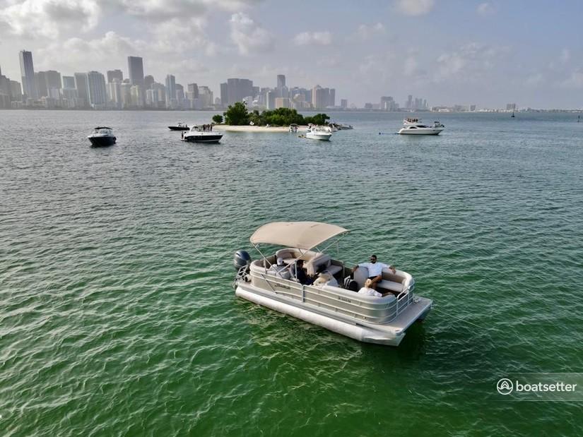 Rent a Godfrey Marine pontoon in Hollywood, FL near me