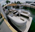 22 ft. Godfrey Marine Sweetwater 2286 Pontoon Boat Rental Miami Image 4