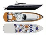 88 ft. 88 Pershing Cruiser Boat Rental Miami Image 6