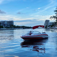 18 ft. Tahoe by Tracker Marine Q4 SS  Bow Rider Boat Rental Miami Image 7