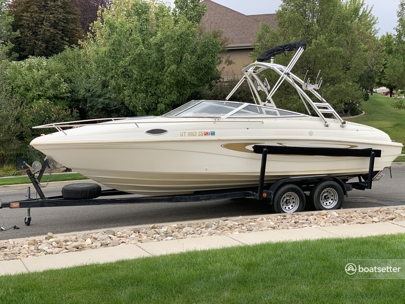 Rent a Rinker Boats cuddy cabin in West Valley City, UT near me