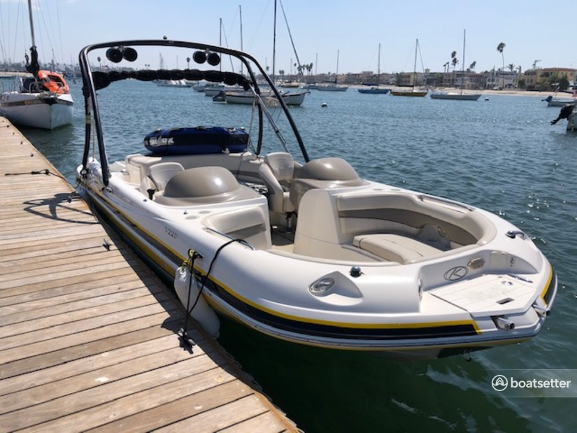 Rent a Harris-kayot Boats deck boat in San Diego, CA near me