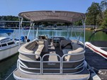 26 ft. Sun Tracker by Tracker Marine Party Barge 24 XP3 w/200L Verado Pontoon Boat Rental Atlanta Image 8