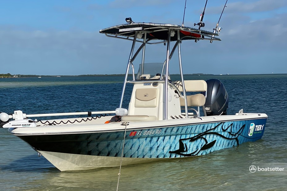 Rent a NauticStar Boats center console in Tarpon Springs, FL near me