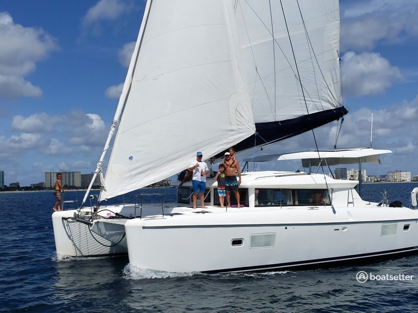 Rent a Lagoon catamaran in Deerfield Beach, FL near me