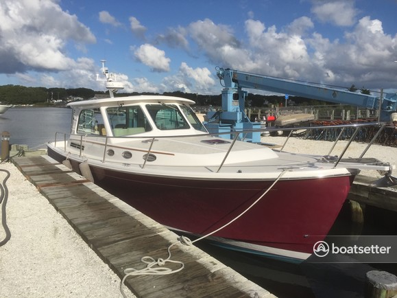 Rent a Back Cove Yachts downeast in Falmouth, MA near me