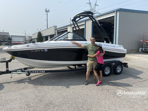 Rent a TAHOE BY TRACKER MARINE fish and ski in Anna, TX near me