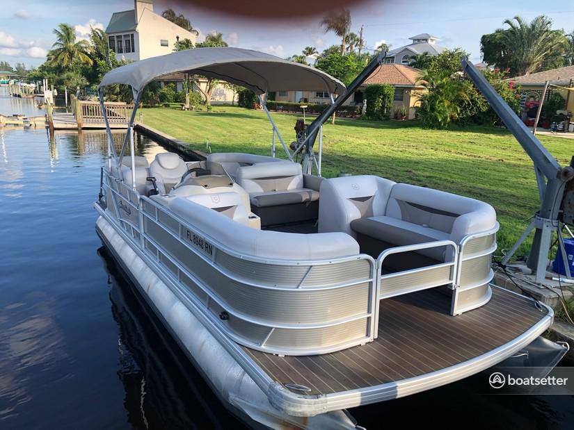Rent a GODFREY MARINE pontoon in Bonita Springs, FL near me