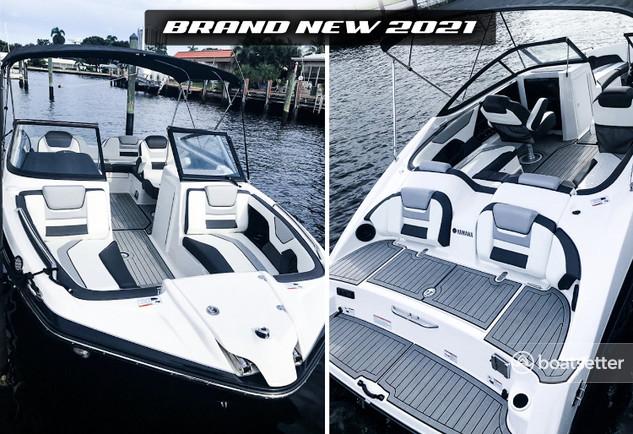 Rent a Yamaha deck boat in Pompano Beach, FL near me