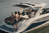 33 ft. SEA RAY BOATS SLX 310 OB Bow Rider Boat Rental Miami Image 4