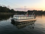 24 ft. Harris FloteBote 240AA Pontoon Boat Rental Charlotte Image 26