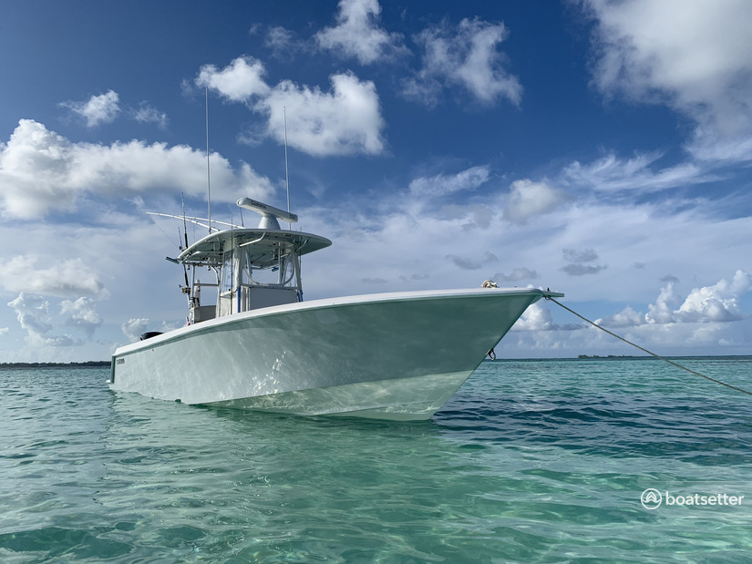Rent a Contender Boats center console in Key Biscayne, FL near me