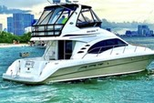 50 ft. Sea Ray Boats 44 Sedan Bridge Motor Yacht Boat Rental Miami Image 3