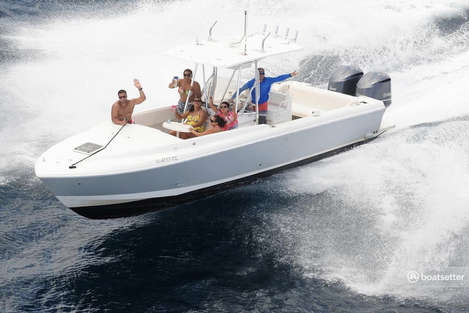 Rent a Intrepid Powerboats center console in East End, St Thomas near me