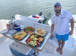50 ft. Dyna 50' Flybridge Motor Yacht Boat Rental Miami Image 18