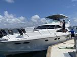 50 ft. Dyna 50' Flybridge Motor Yacht Boat Rental Miami Image 54