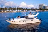 50 ft. Dyna 50' Flybridge Motor Yacht Boat Rental Miami Image 58
