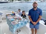 50 ft. Dyna 50' Flybridge Motor Yacht Boat Rental Miami Image 61