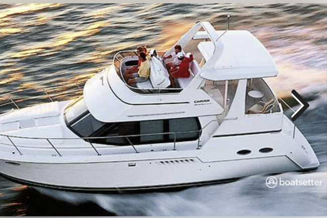 Rent a Carver Yachts motor yacht in Detroit, MI near me