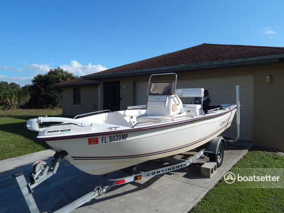 Rent a Cape Craft Fishing Boats center console in North Port, FL near me