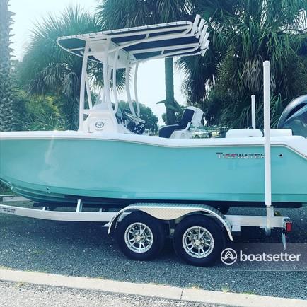 Rent a 2021 21' Tidewater 210 LXF - Family fun/fishing   in Mount Pleasant, SC near me