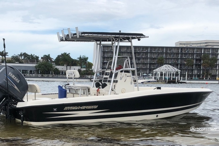 Rent a Hydrasports Boats saltwater fishing in Tampa, FL near me
