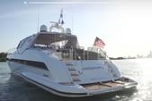 80 ft. Mangusta 80 Motor Yacht Boat Rental Miami Image 3