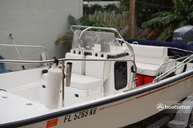 Rent a Boston Whaler center console in Boynton Beach, FL near me