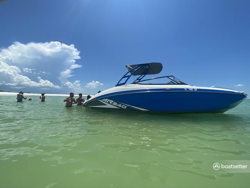 Rent a YAMAHA jet boat in Orlando, FL near me