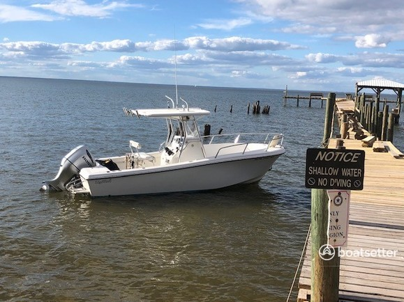 Rent a Edgewater Powerboats center console in Fairhope, AL near me
