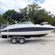 20 ft. Hurricane Boats SD 2000 Deck Boat Boat Rental Tampa Image 4