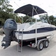 20 ft. Hurricane Boats SD 2000 Deck Boat Boat Rental Tampa Image 3