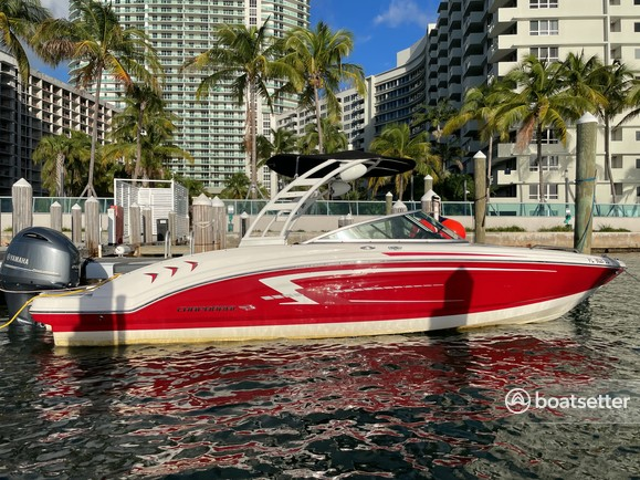 Rent a Chaparral Boats bow rider in Miami Beach, FL near me