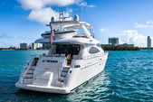 70 ft. 70' Azimut Motor Yacht Boat Rental Miami Image 3