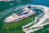 77 ft. 77' Azimut S Flybridge Boat Rental Miami Image 3