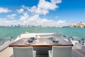 77 ft. 77' Azimut S Flybridge Boat Rental Miami Image 8