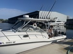 30 ft. Boston Whaler 285 Conquest w/2-225HP Verado Cruiser Boat Rental Tampa Image 5