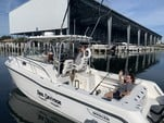 30 ft. Boston Whaler 285 Conquest w/2-225HP Verado Cruiser Boat Rental Tampa Image 7
