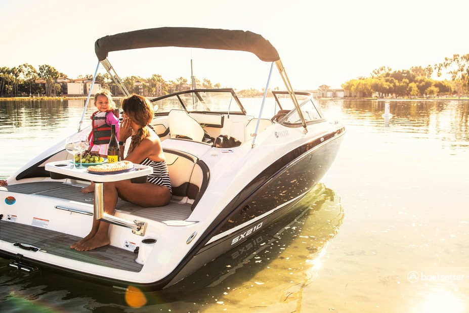 Rent a Yamaha bow rider in Long Beach, CA near me