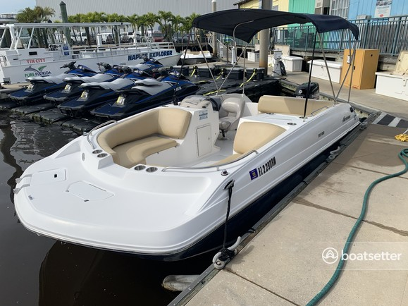 Rent a Hurricane Boats bow rider in Naples, FL near me
