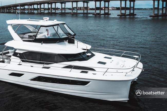 Rent a Aquila  catamaran in Naples, FL near me