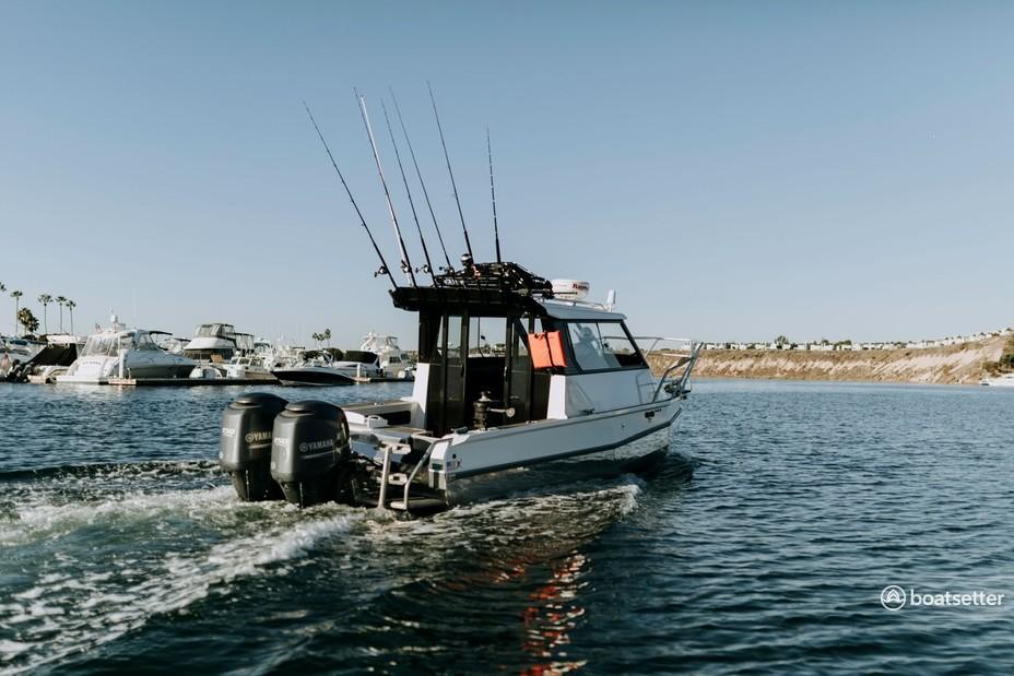 Rent a Stabicraft aluminum fishing in Newport Beach, CA near me