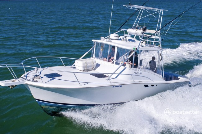 Rent a Luhrs Boats offshore sport fishing in Dunedin, FL near me