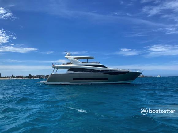 Rent a Prestige motor yacht in West Palm Beach, FL near me